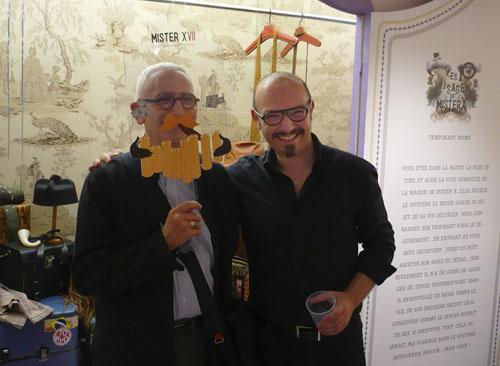 Alain Lardet et Francesco Catalano