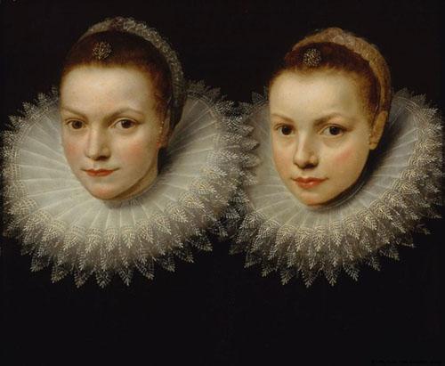 Cornelis de Vos Two sisters 1610 1615