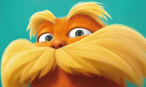 Lorax moustache