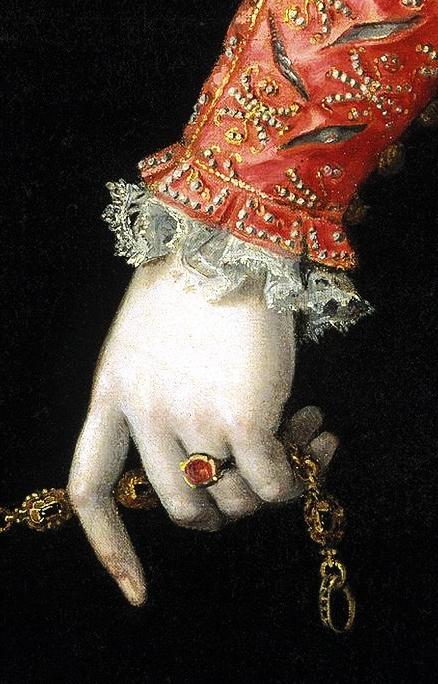 SOFONISBA ANGUISSOLA Elisabetta di Valois